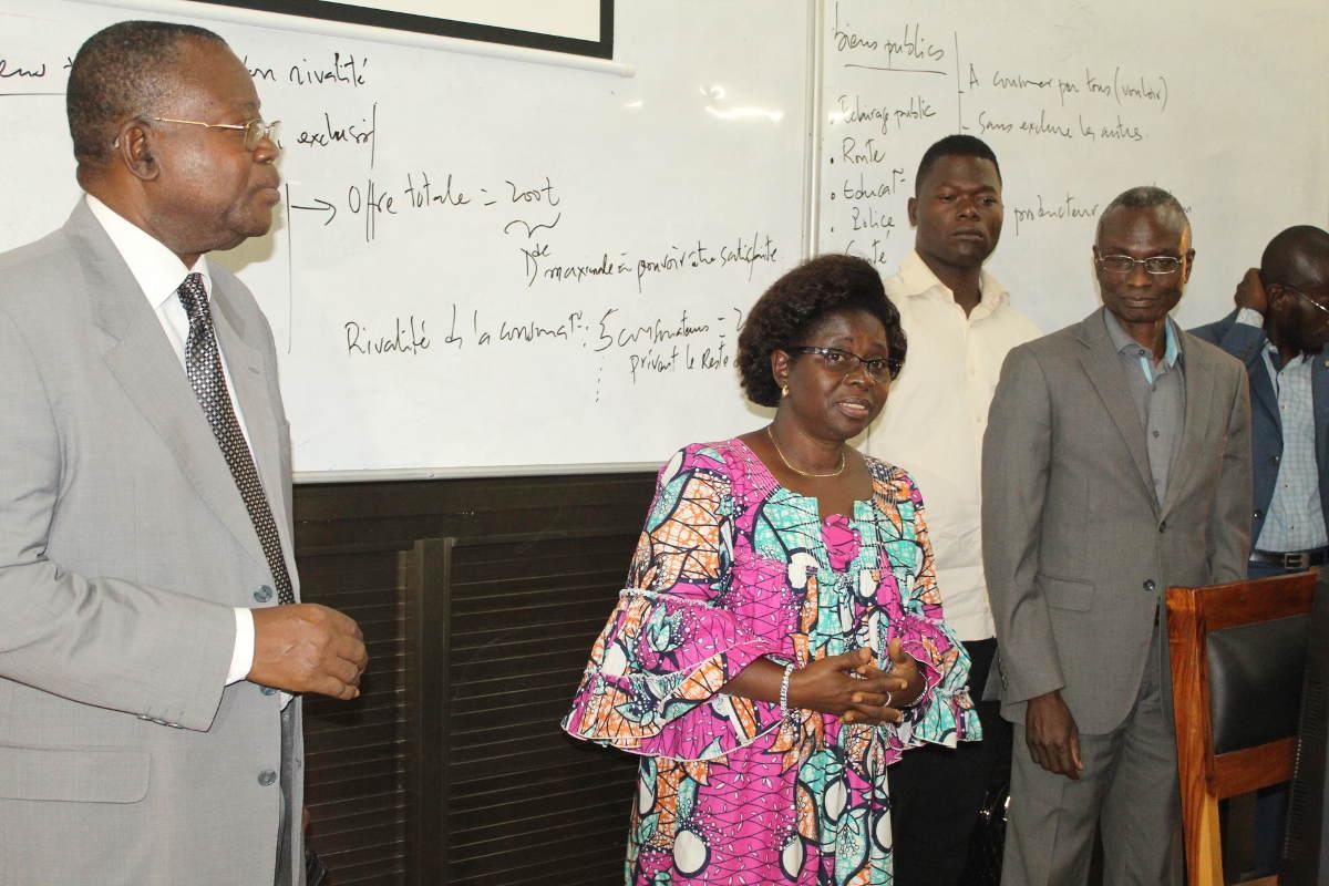 Visite de la ministre de la Planification du Développement et de la Coopération  à l'Université de Kara