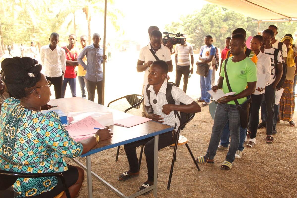 Opération foraine d'établissement de certificats de nationalité togolaise à l'Université de Kara