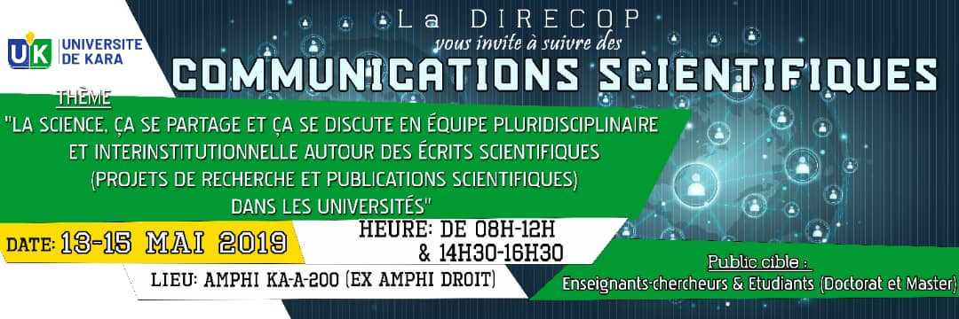 Communications Scientifiques