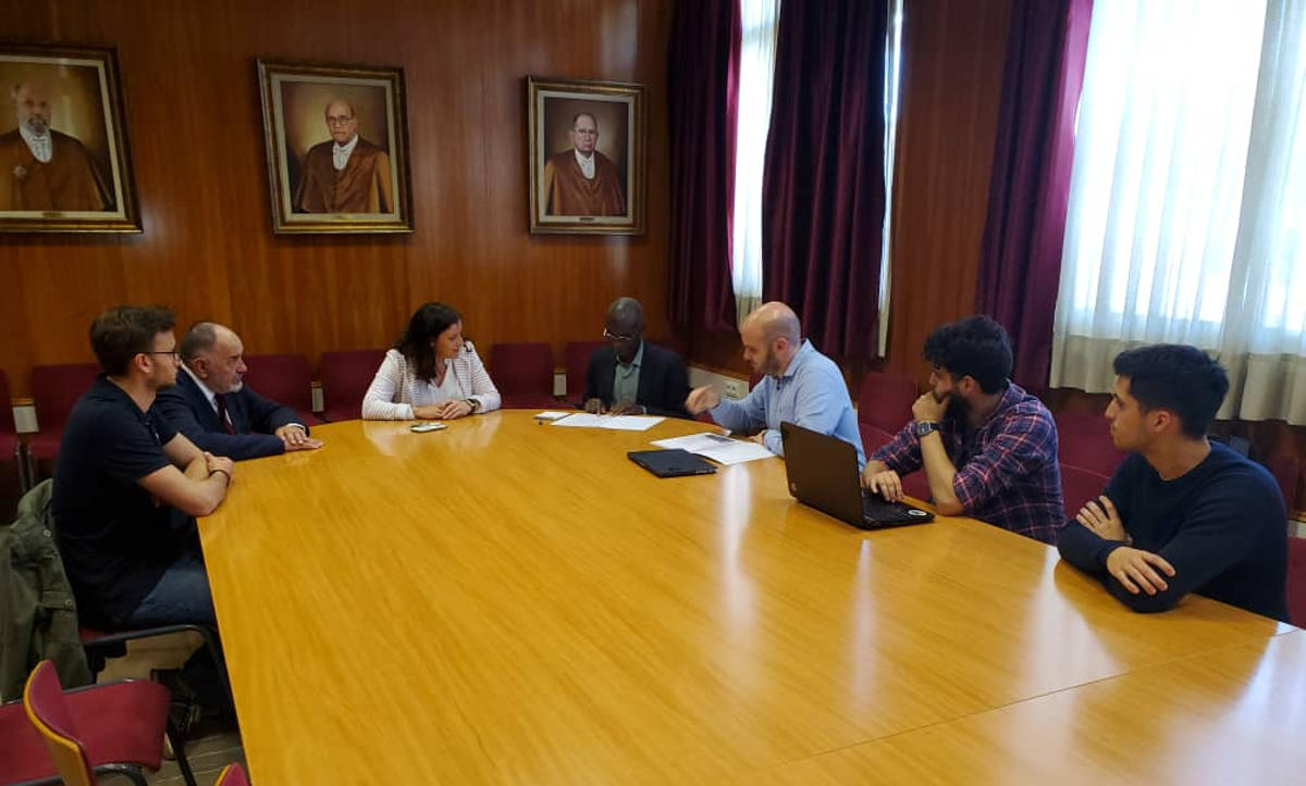 Fin du séjour du Président de l'Université de Kara à Granada