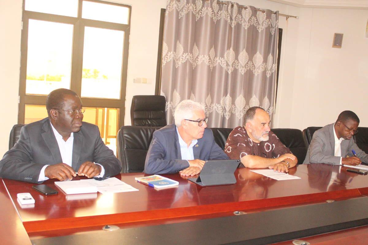 Le partenariat UK, Fondation Baobab et UGR se consolide
