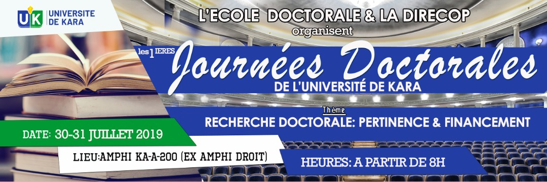 Premières journées doctorales