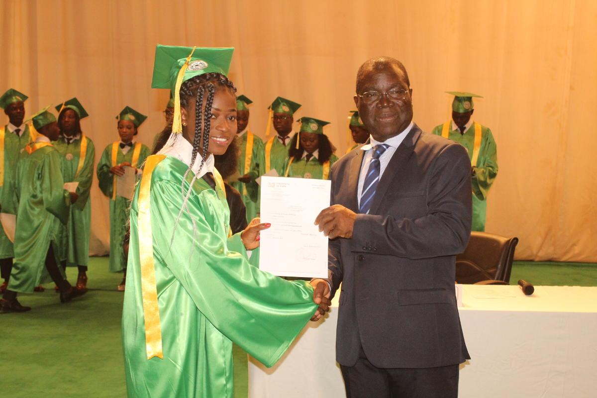 Remise de diplômes aux étudiants en PSE/PDL