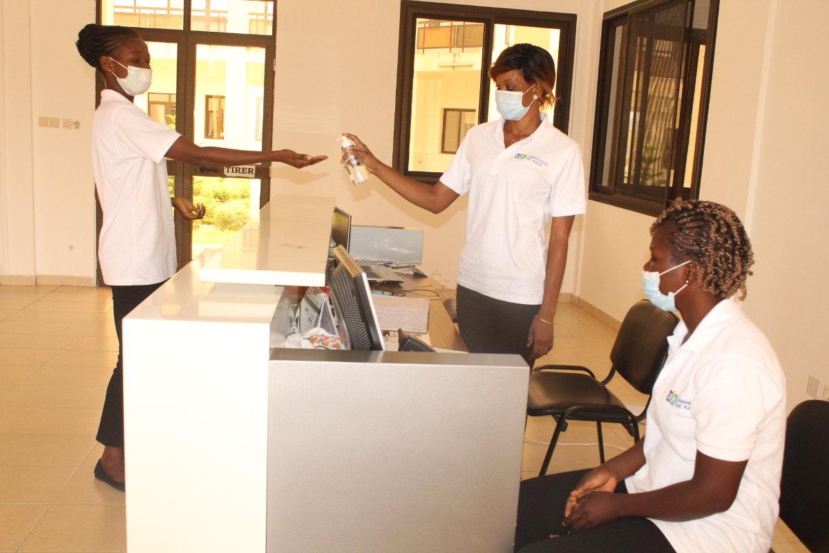 Relance des activités administratives à l'Université de Kara