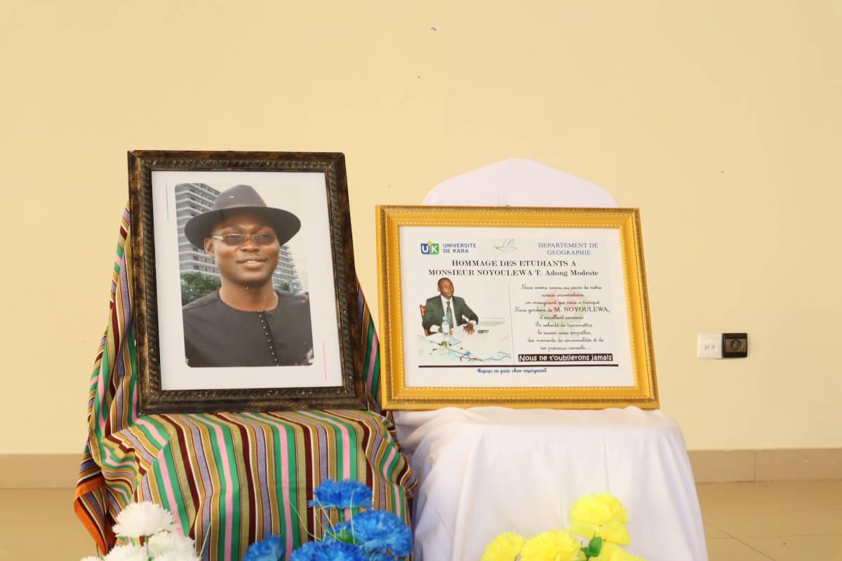 L'UK rend un dernier hommage à M. Noyoulewa