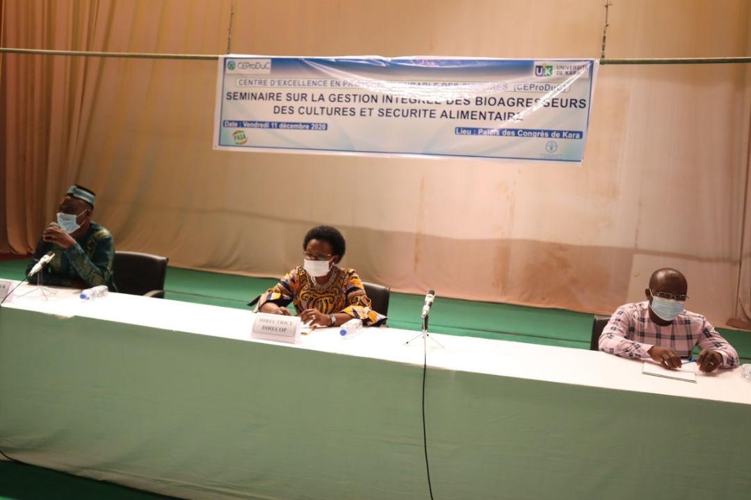 L'Université de Kara dans la lutte contre les bioagresseurs des cultures