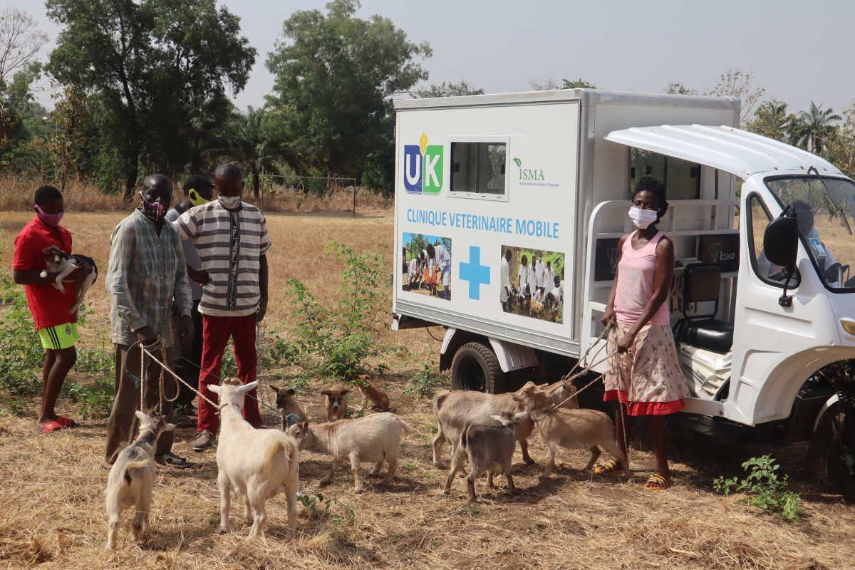L'ISMA lance le projet clinique vétérinaire mobile