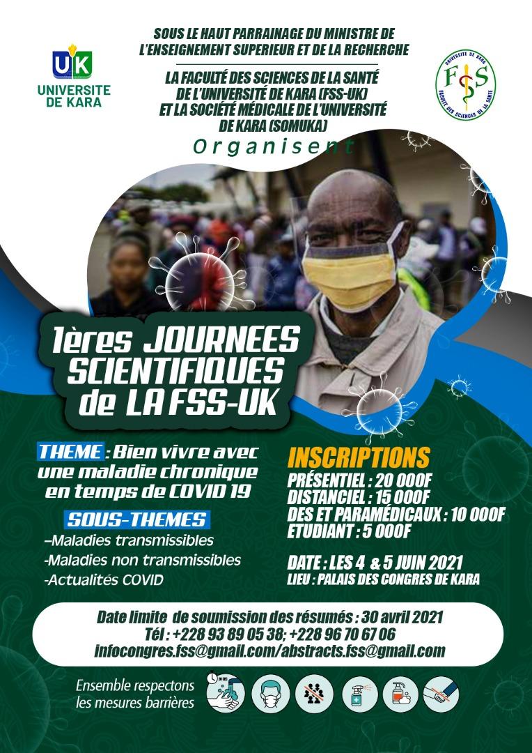 1 ères Journée Scientifique de la FSS-UK